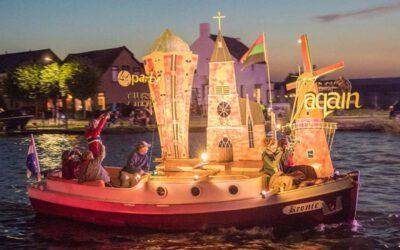 Winnaars verlichte botenshow